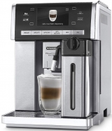 Автоматическая русифицированная кофемашина DeLonghi PrimaDonna Exclusive ESAM 6900 М, б/у.