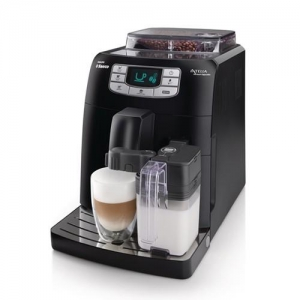 Кофемашина автоматическая Philips Saeco Intelia One Touch Cappuccino, черная.