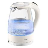 Электрический стеклянный чайник с подсветкой, белый IdeenWelt HHB1749A.