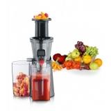 Соковыжималка шнековая для дома, томатов, твердых овощей, фруктов, ягод, винограда SEVERIN ES 3571.