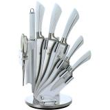 Набор ножей с нержавеющей стали с подставкой Royalty Line RL-KSS804