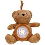 """Детский ночник медведь, светодиодный LED прожектор, светодиодный ночной светильник, мягкая игрушка мишка """" Тедди """" Ideen welt WF80071, коричневый."""