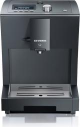 Кофемашина автоматическая  б/у Severin KV 8003 S2, черная, 15 бар.