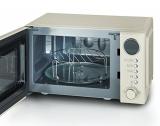 Ретро микроволновая печь с функцией гриля 2 в 1 Severin MW 7892 бежевая, 700 Вт, 20 л.