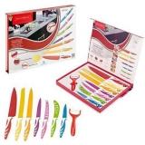 Набор кухонных ножей, разные цвета Koch Line