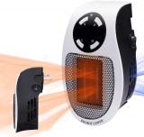 Тепловентилятор портативный электрический обогреватель помещений с термостатом пультом  ULP 500 Вт