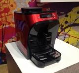Автоматическая кофемашина б/у Severin Piccola, красная.