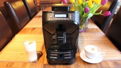 Автоматическая кофемашина Severin Piccola KV 8080, б/у, черная.